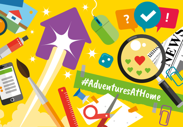 Join Girlguiding for Adventures at Home ... fun activities for all ages! featured image