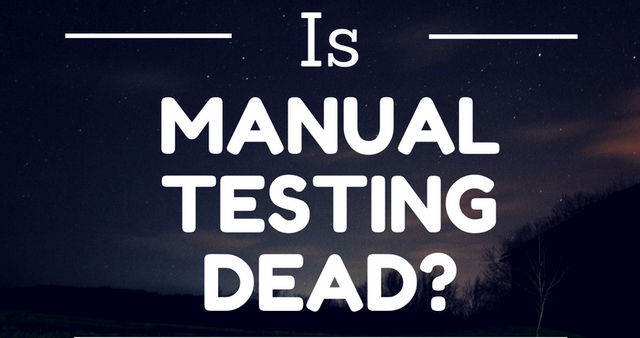 Is This the Death of Manual Testing? featured image