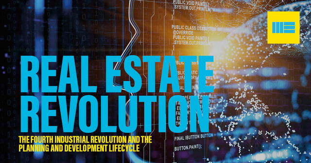 HOW THE 4th INDUSTRIAL REVOLUTION CAN SHORTEN THE PLANNING AND DEVELOPMENT LIFECYCLE featured image