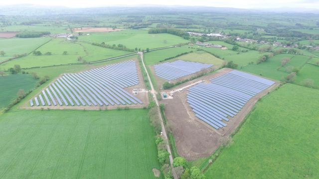 Developers propose 350 MW PV+storage project in UK featured image