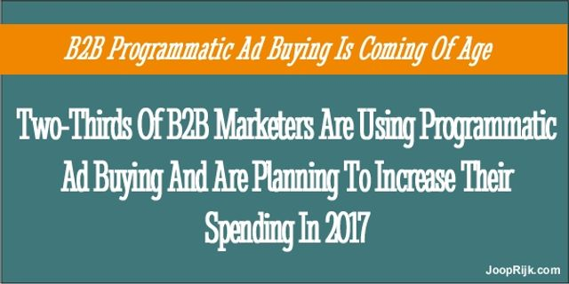 Is Programmatic Advertising The Silver Bullet For B2B? featured image