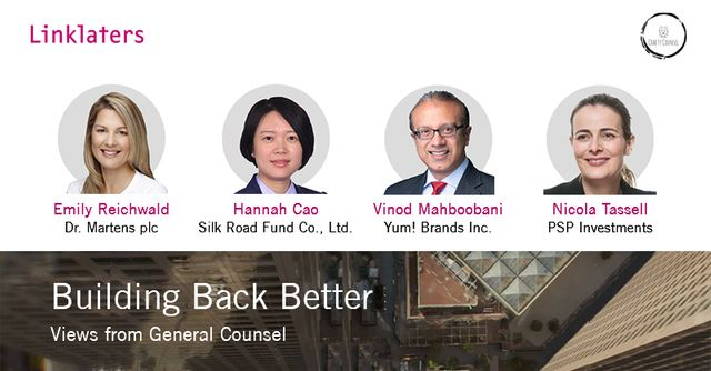 Building Back Better: Views from General Counsel featured image