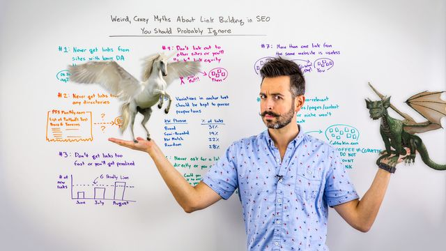 Weird, Crazy Myths About Link Building in SEO You Should Probably Ignore featured image
