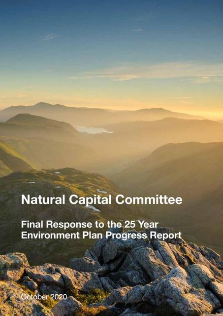 NCC's Final Response to the government's 25 Year Environment Plan Progress Report featured image