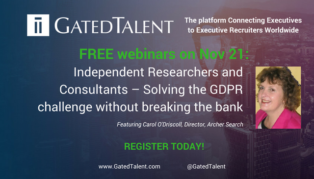 Independent Researchers and Consultants – Solving the GDPR challenge without breaking the bank featured image