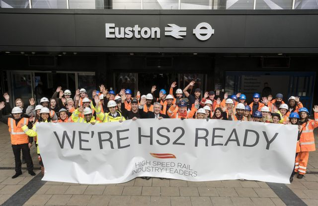 HS2 officially underway featured image