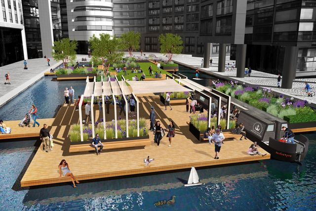Floating a brilliant new idea: Paddington to get a public park on water featured image