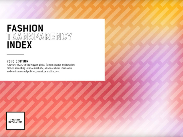 Sheer is back in fashion: the 5th annual Fashion Transparency Index shows promising trends featured image