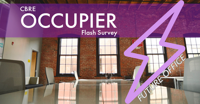 CBRE Occupier Flash Survey featured image