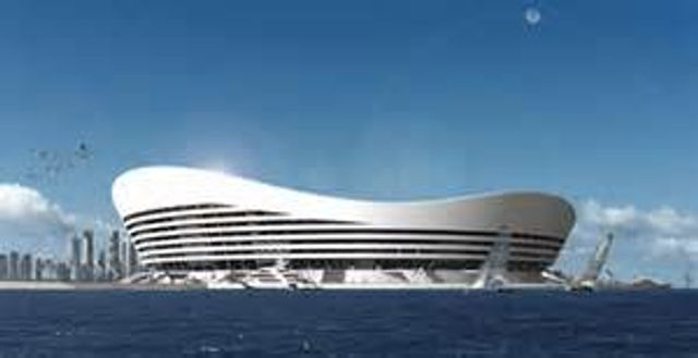Innovative Floating stadium featured image
