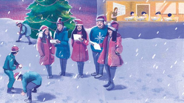 Lucy Kellaway's end-of-term diary: my first Christmas as a teacher featured image