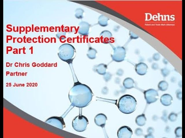 Webinar: Supplementary Protection Certificates - part 1 featured image