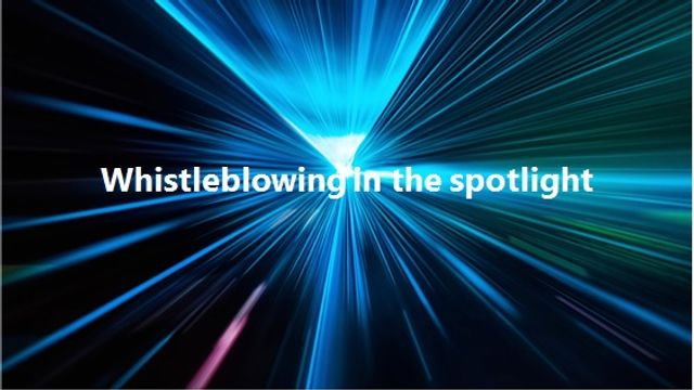 Whistleblowing in the financial services sector - does motive matter? featured image
