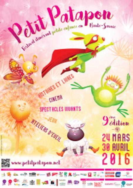 """Festival itinérant petite enfance """"Petit Patapon"""" featured image"""