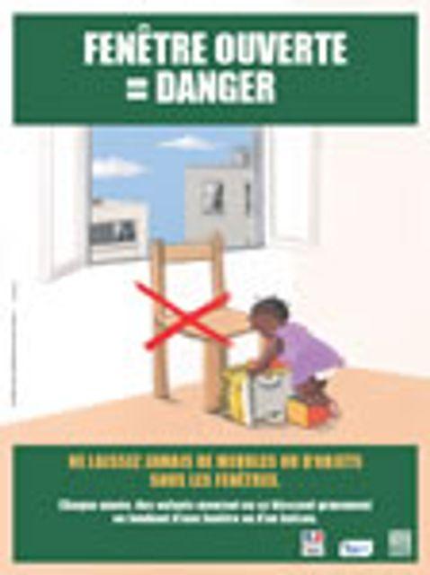 Chutes d'enfants par la fenêtre Appel à la vigilance des parents : 4 fois sur 5, un adulte est prése featured image
