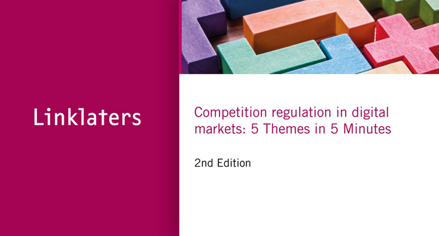 Watch: Competition regulation in digital markets - five themes in five minutes featured image
