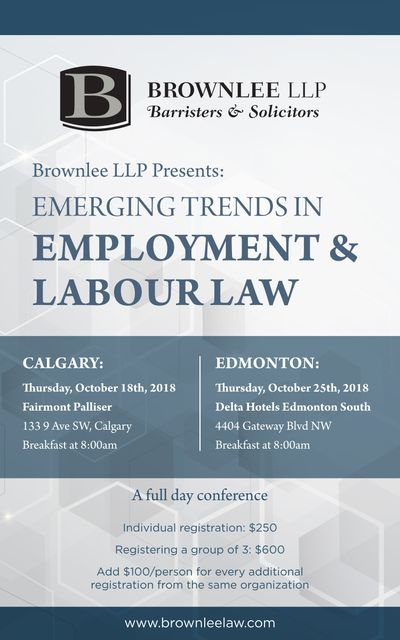 Emerging Trends in Employment & Labour Law featured image