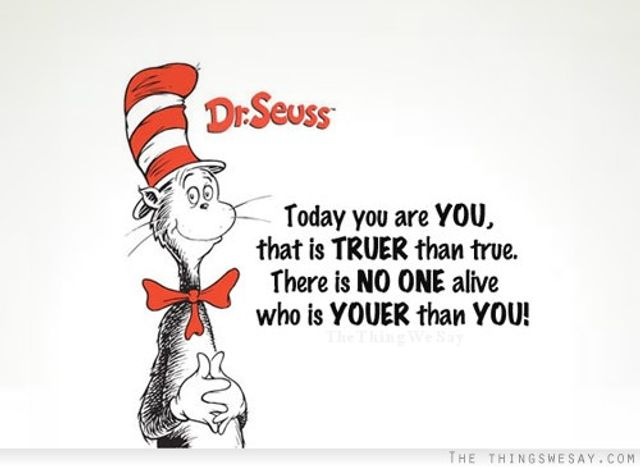 Authenticity in B2B communications - Do what Dr Seuss says..... featured image