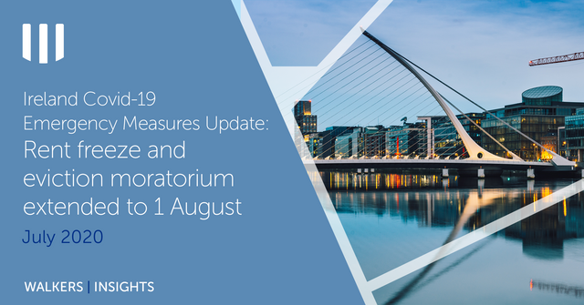 Ireland Update - Covid-19 Emergency Measures to be Further Extended to 1 August 2020 featured image