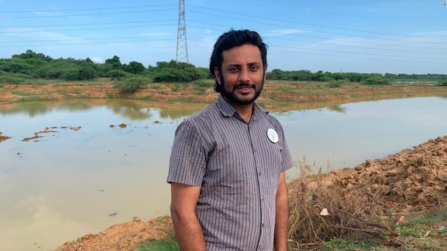 From Google to garbage disposal: the environmentalist cleaning up India's lakes featured image