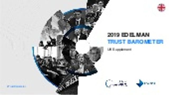 Edelman Trust Barometer 2020 - Why does it matter? featured image