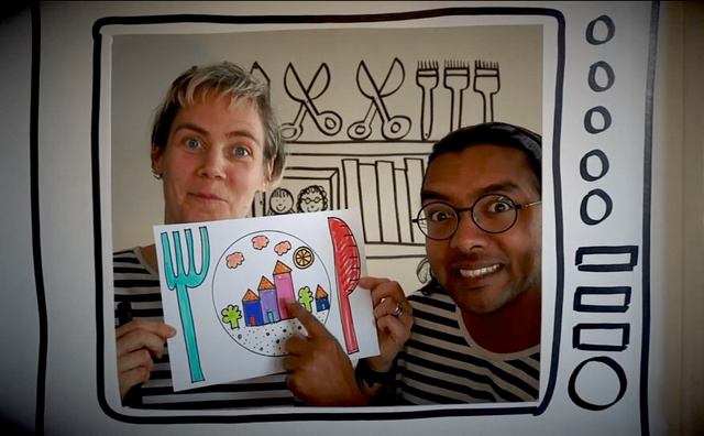 Join 'Anna & Arji's Broom Cupboard' for art, poetry and games featured image