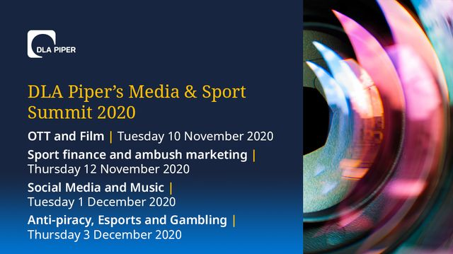 DLA Piper's Global Media and Sport Summit 2020 featured image