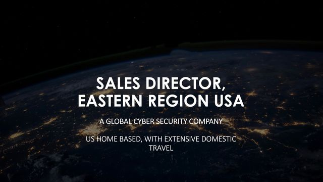 Case Study: How we delighted a US cyber security market leader - Sales Director featured image