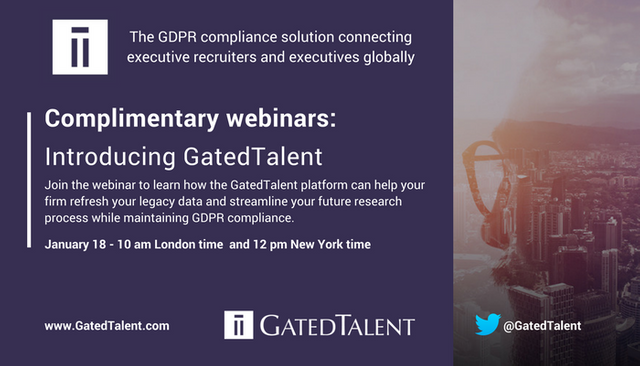 Discover the GDPR Compliance Platform that Allows Executive Recruiters to Connect with Top Talent featured image