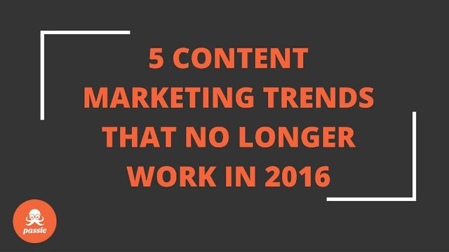 5 Content Marketing Trends to Avoid featured image