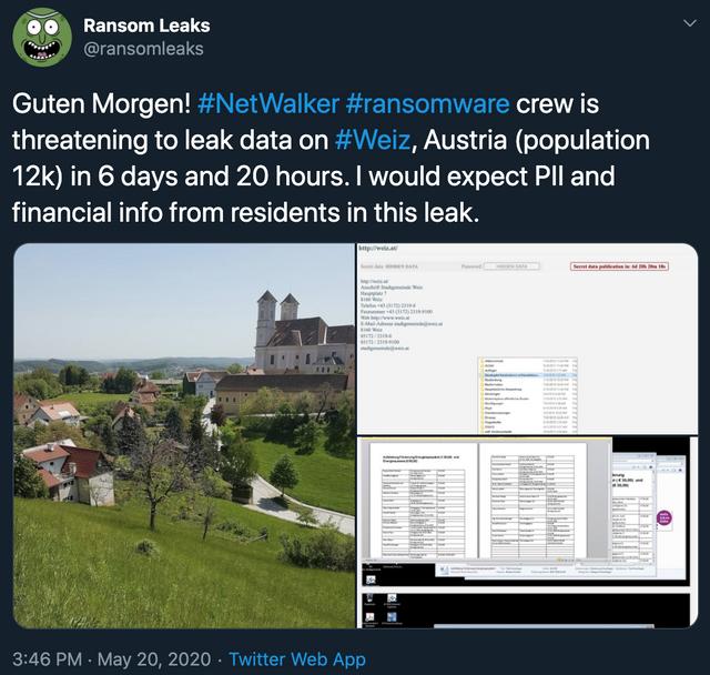 Ein Datenleck aus… Weiz, Oststeiermark? featured image