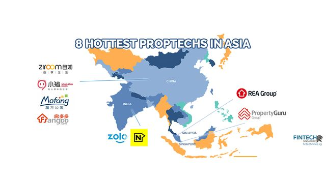 Hottest Proptech Players in Asia featured image