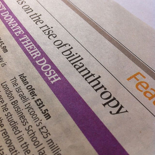 The Three Agendas In Philanthropy featured image