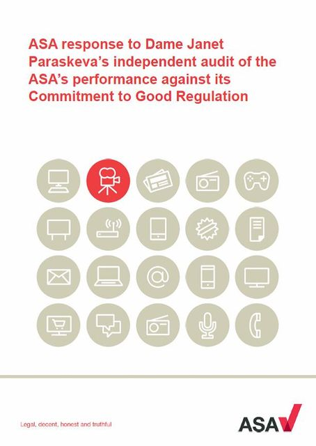 ASA responds to audit of its performance. Well, nearly... featured image