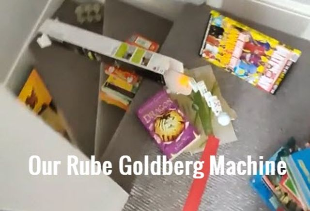 Have fun building your own Rube Goldberg Machine featured image