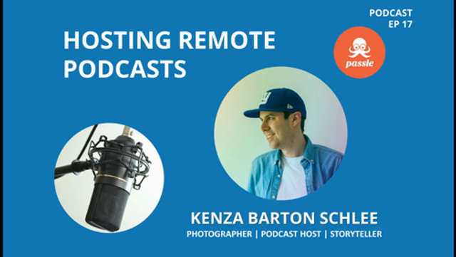 Passle Podcast EP17 - Hosting remote podcasts featured image