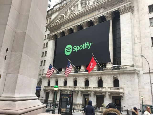 Spotify Is Greeted by Wall Street With a Swiss Flag, Even Though It's From Sweden featured image
