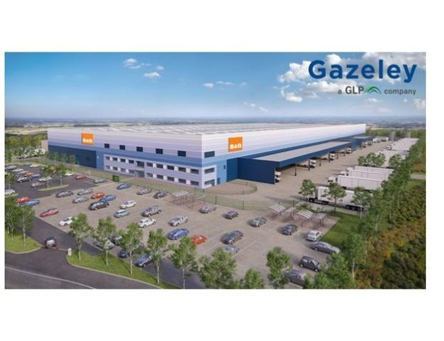B&Q breaks ground on sustainable new national distribution centre featured image