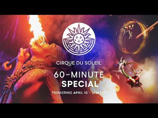 Watch the beautiful and nail-biting performance by Cirque du Soleil - tonight 8pm featured image
