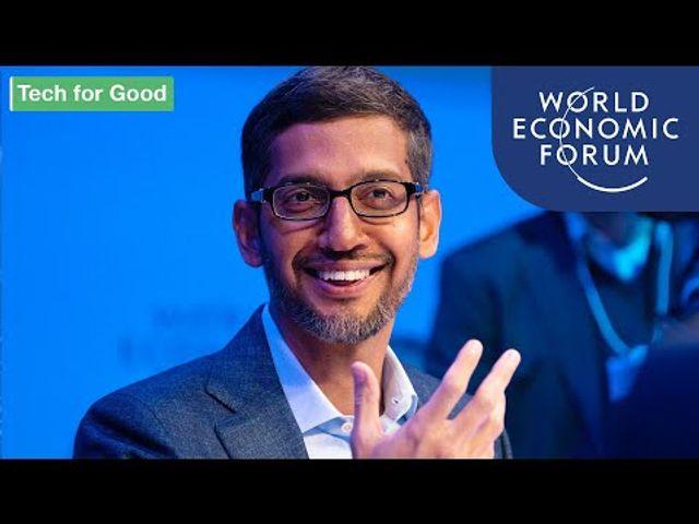 Sundar Pichai at Davos 2020 featured image