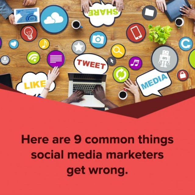 9 Things Social Media Marketers Get Wrong featured image