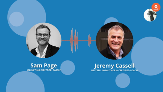Passle Podcast Ep 21 - Jeremy Cassell on improving your presentation skills. featured image