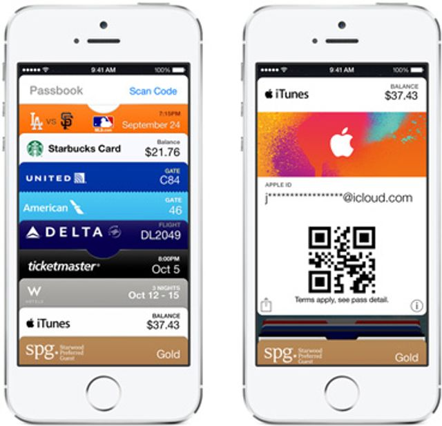 Top-up your iTunes account in-store with Passbook featured image