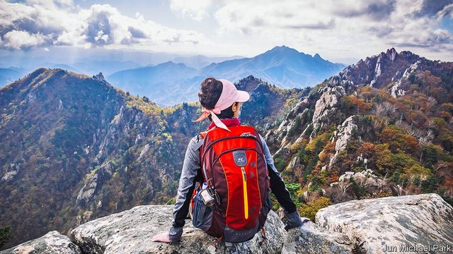 The combined joys of hiking and The Economist featured image