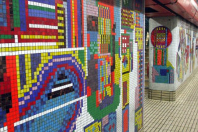 Well worth a viewing - the restored Tottenham Court Road mosaic featured image