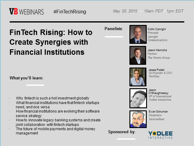 FinTech Rising: How to Create Synergies with Financial Institutions featured image