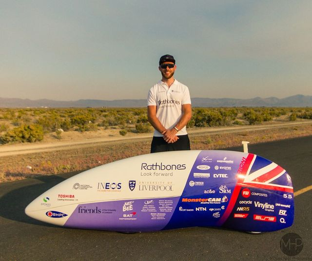 British Human Powered Land Speed Record Broken by Ken Buckley featured image