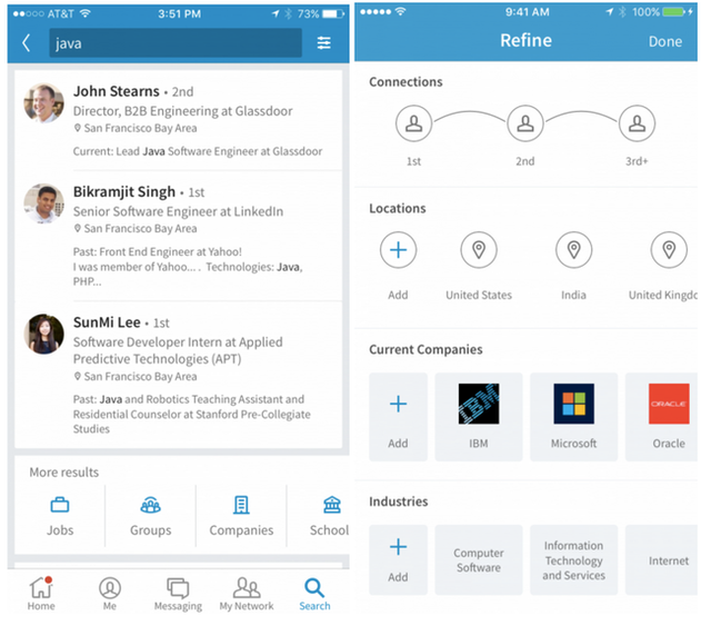 The New LinkedIn App: Set up more prospect meetings via the handy search tool featured image