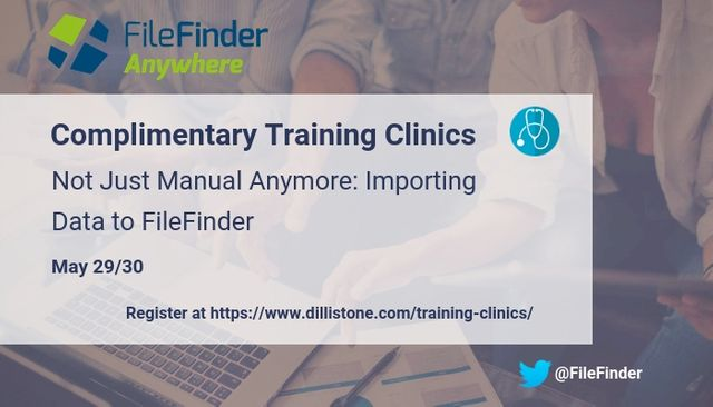 FileFinder Clinics: Not Just Manual Anymore - Importing Data to FileFinder featured image