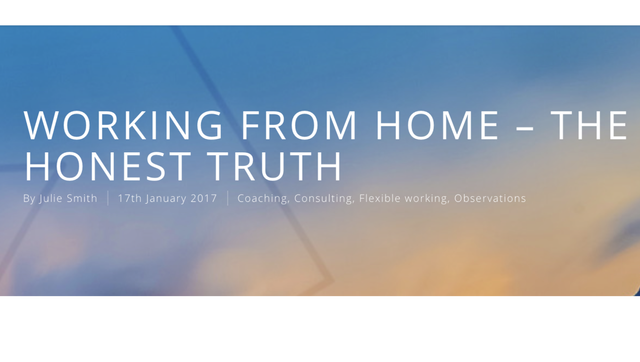 Working From Home - The Honest Truth featured image